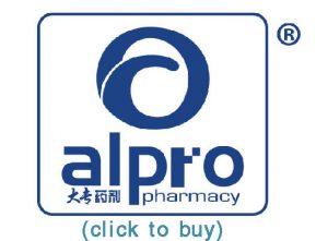 Alpro pharmacy logo